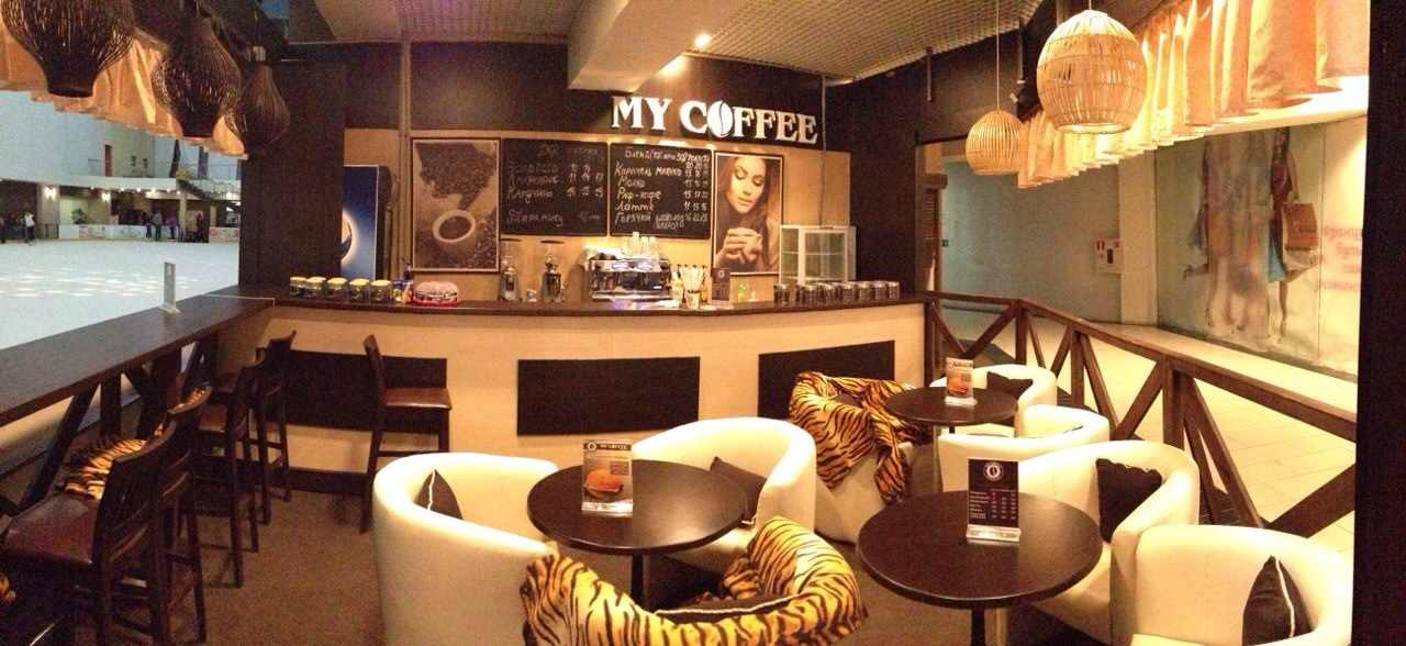 маленькая кофейня с нуля