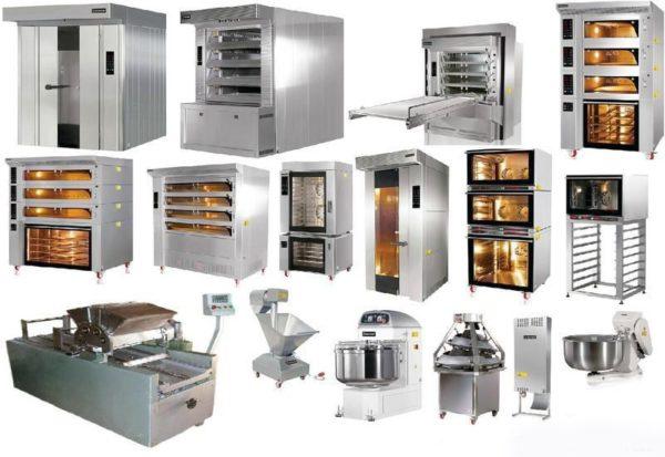 какое оборудование необходимо для пекарни