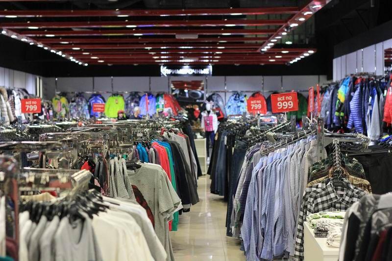 магазин стоковой одежды