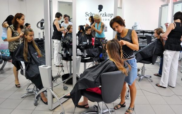 персонал парикмахерской